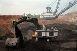 Coal mining in NW Louisiana.